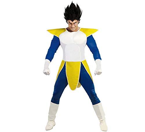 Vegeta Dragon Ball Z-Kostüm für Erwachsene - Größe M / L - Fiesta (Dragon Ball Z Kostüm)