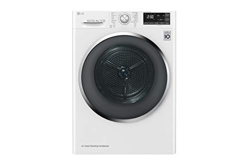 LG RH9052WH sèche-linge Autonome Charge avant Blanc A+++ - Sèche-linge (Autonome, Charge avant, Pompe à chaleur, Blanc,...