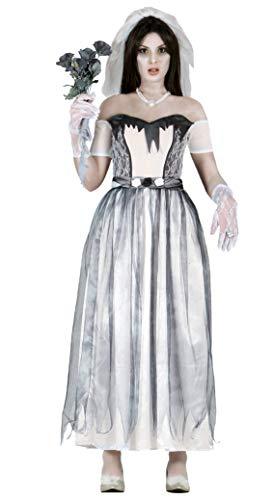 Kostüm Braut Untote - Fiestas Guirca Geisterbrautkostüm für Halloween Verkleidung