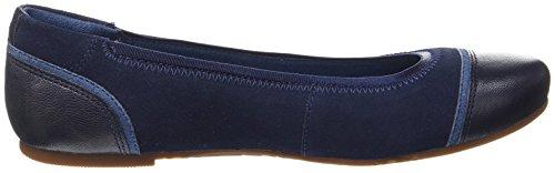 Timberland Millbury, Ballerines Bout Fermé Femme Bleu (Navy 484)