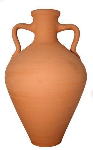 Ton-Amphora, 7 l Fassungsvermögen ()