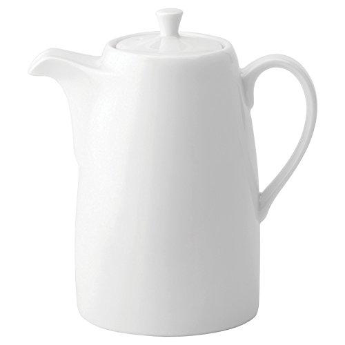 Utopia Anton Noir en porcelaine fine Z03054-000000-b01006 Pot de café, 21 g (lot de 6)