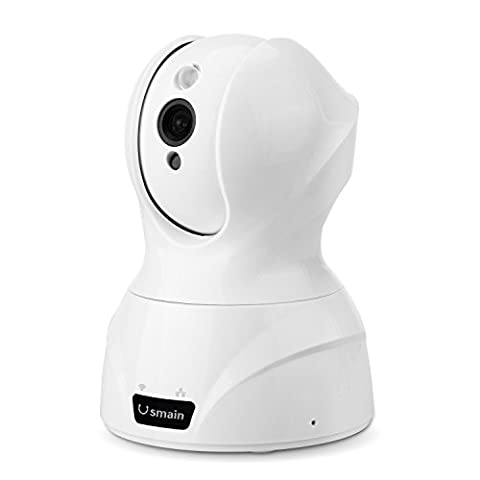 Usmain 720P Schwenkbare WLAN Kamera HD WiFi Baby Monitor Indoor/Heim