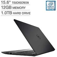 "Dell Inspiron 15 5000 High Performance I5570 15.6"" FHD Touch Laptop ~ 8th Gen. I5-8250U Quad Core ~ 12GB DDR4 RAM ~ 1TB Hard Drive ~ DVDRW ~ Backlit Keyboard ~ USB 3.1 ~ WiFi BT ~ Windows 10"