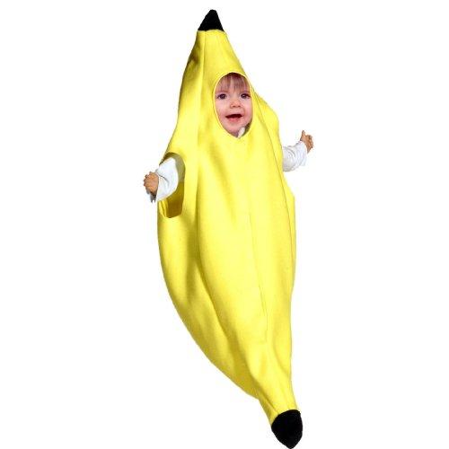 Kostüm Baby Banane - Bananen Kostüm für Babys - 3-9 meses