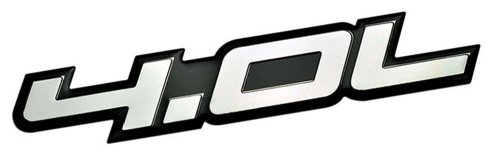 40l-liter-embossed-silver-on-black-highly-polished-silver-real-aluminum-auto-emblem-badge-nameplate-