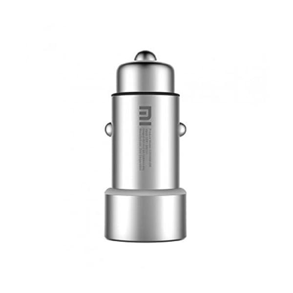 Mi Original Dual USB Car Charger (Silver)