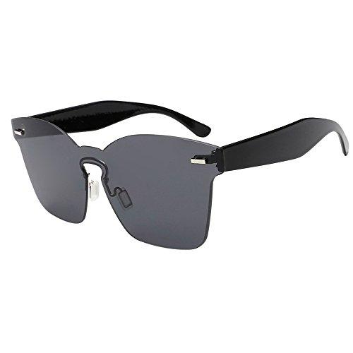 Honestyi Frauen Unisex Mode Chic Shades Acetat Rahmen UV Brille Sonnenbrille BZ673 Männer und Sonnenbrillen in quadratischer
