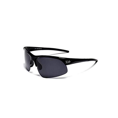 , Angeln Golfbrille,Cheap Wholesale DAIWA Brand Desigen High Quality UV400 Sunglasses For Driving Fishing Man Goggles Driving Sun Glasses Oculos Black ()