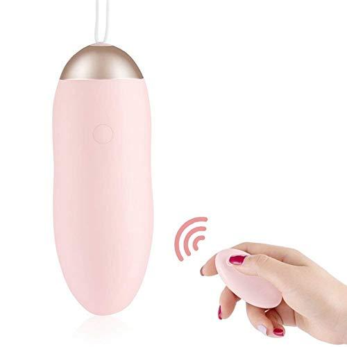 Œuf Vibrant télécommande sans Fil Fascination, Silicone 7 Modes de Vibration muet et Doux pour la Peau, Massage Rechargeable par USB