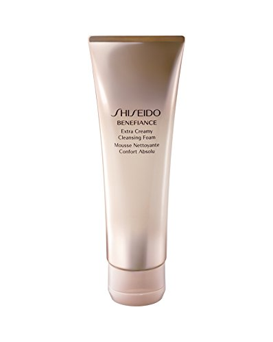 Rich Foaming Cleanser (Shiseido Benefiance Falten Resist 24 reinigung Foam - Damen, 1er Pack (1 x 125 ml))