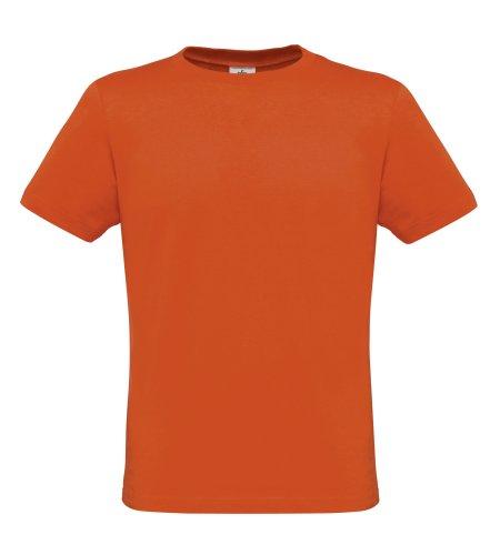 BCTM010 T-Shirt Men-Only Herren Shirt Pumpkin Orange