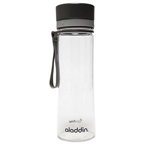 Aladdin Aveo Bouteille d'eau, Gris, 7 x 7 x 24 cm