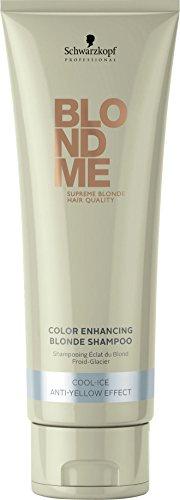 Schwarzkopf BlondMe Blond clair Shampooing Brillance Cool Ice 250 ml