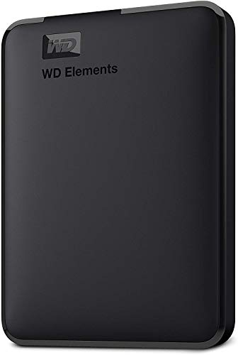 Western Digital Elements 1TB Portable External Hard Drive (Black)