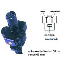 Contacteur a cle pour HONDA 650 DOMINATOR pour HONDA- 650- NX 650 DOMINATOR- 1992
