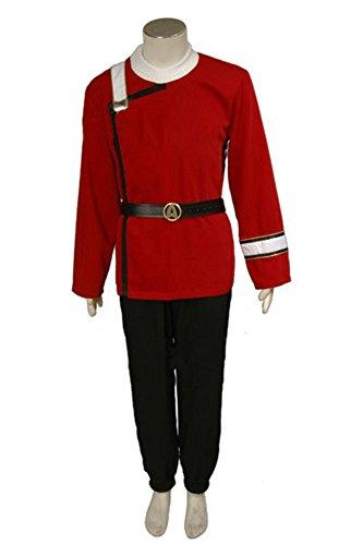 MingoTor Star Cosplay Kostüm Uniform Herren - Starfleet Uniformen Kostüm