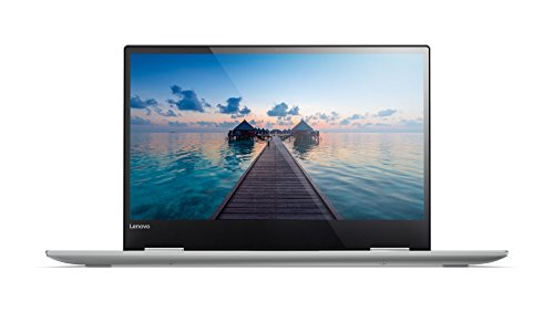 Lenovo Yoga 720 33,8 cm (13,3 Zoll Full HD IPS Touch) Convertible Notebook (Intel Core i5-7200U, 8GB RAM, 256GB SSD, Intel HD Grafik 620, Windows 10 Home) silber