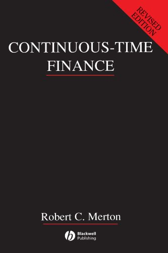 Continuous Time-Finance Rev (Macroeconomics and Finance)