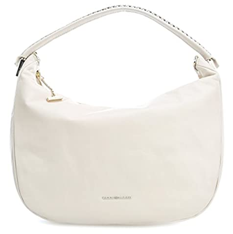 Tommy Hilfiger Effortless Ledertasche Hobo AW0AW03902 /406 Damen Henkeltaschen