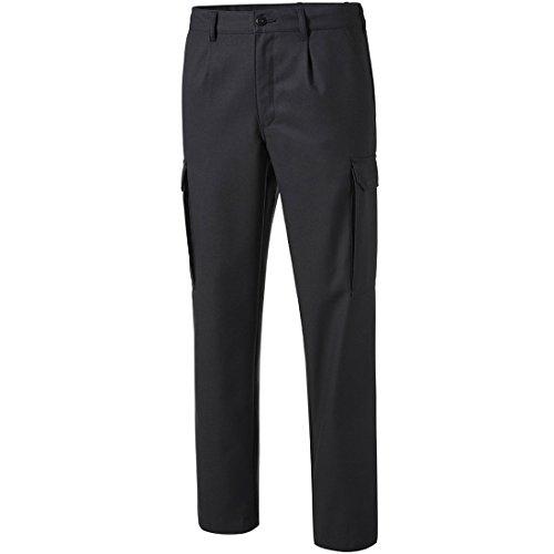 Preisvergleich Produktbild PIONIER WORKWEAR Herren Cargohose mit Gummizug in schwarz (Art.-Nr. 8302) schwarz,Größe 50