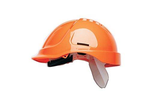 Scott Safety HC600/O Helmet Unvented with Sweatband, Orange
