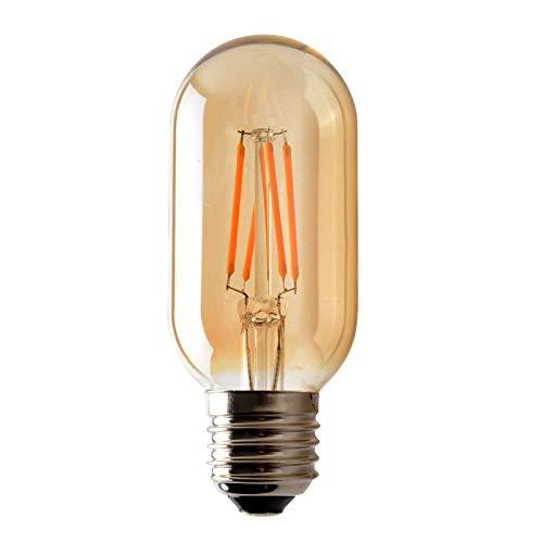 Justierbares Halogen-licht (Halogen Warmes Licht Warme Wolframglühlampe Der Dekorativen Schraube Der Halogenatmosphäre Führte Teefarbe Justierbare Helle Dekorative Glühlampe Des Wolframs T45)