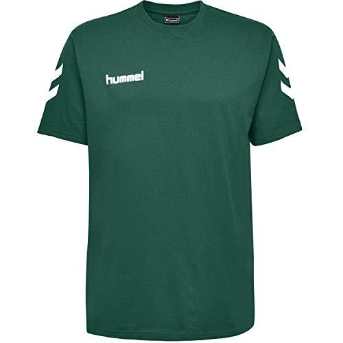 hummel Kinder HMLGO Kids Cotton T-Shirts Evergreen 140