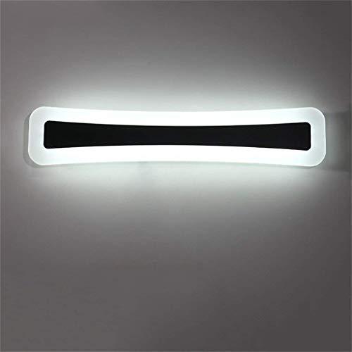 BD Modernes Foto des Lampenmodus vor dem Test von Simple des Badezimmerspiegels Energiesparendes LED-Licht vor dem Acrylspiegel der Wandleuchte Höflichkeitslicht mit Heimgebrauch,Weißes Licht 80cm32w