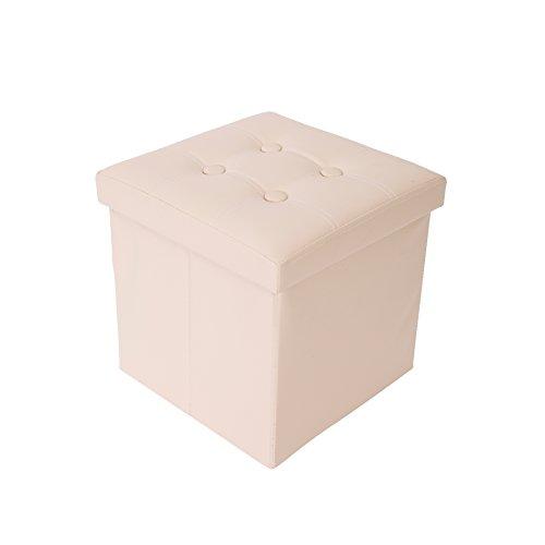 Mobili Rebecca® Puff Asiento almacenje Sillon Taburete Baúl para Dor