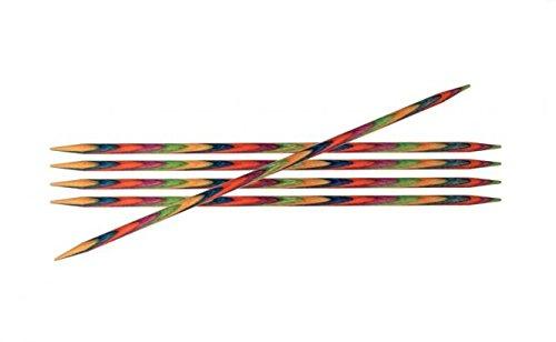 Knit Pro Symfonie Holz Strumpfstricknadeln 15cm von Knitpro