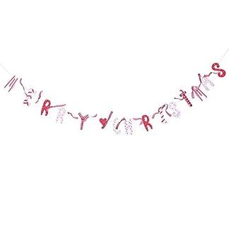 Tonpot-Girlande-aus-Holz-wiederverwendbar-Dekoration-fr-Weihnachten-Basteln-15-m-8-cm-x-3-cm