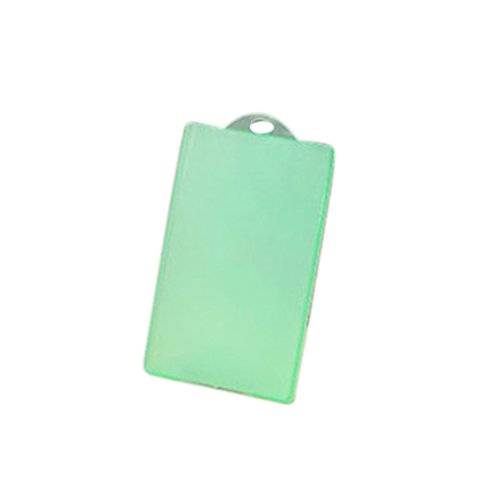 Vkospy Schlanke PVC Transparent IC Card Bus Karte Kreditkarte Abdeckung Fall Halter ohne Seil -