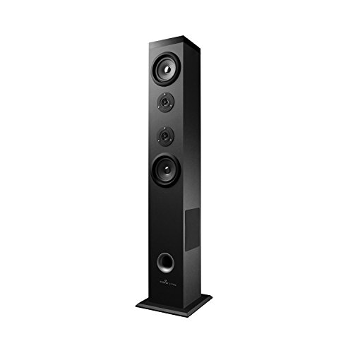 Energy Sistem Tower 5 - Equipo de Home Cinema, Bluetooth, RMS: 60 W, panel táctil, USB/SD y FM, negro