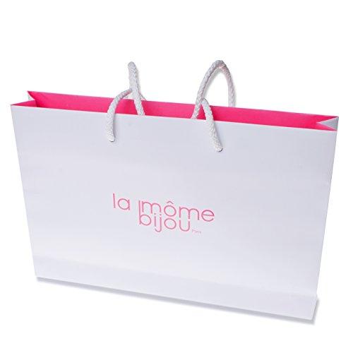 La Môme Bijou Femme Bébé Charms Collier de 42cm Vermeil