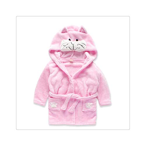 Children's Nightgown Flannel Cartoon Animal Shape Cosplay Boy Child Girl Bathrobe Baby Pajamas Home Service Halloween Party Gift 10 11T