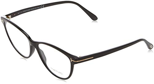 Tom Ford Damen Ft5402 Brillengestelle, Schwarz (NERO LUCIDO), 54
