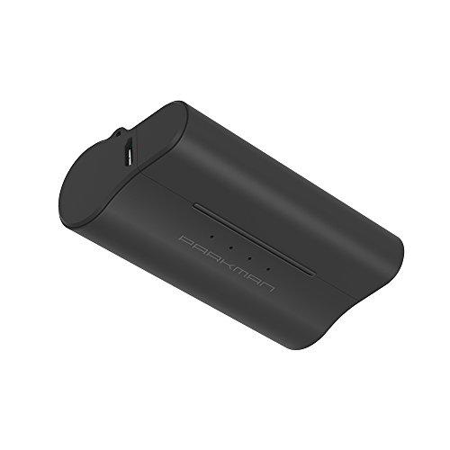 Mini Batería Externa sin Cable, Parkman® E1 2200mAh Cargador Portátil con Conexión Directa Power Bank para iPhone 5/5S/5C, SE, 6/6S - Negro