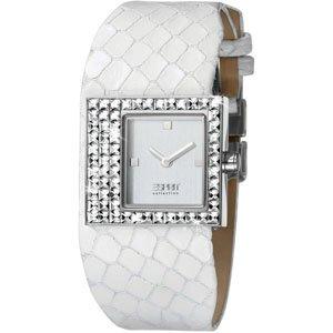 Esprit Damen-Armbanduhr Analog Quarz Leder EL900422003