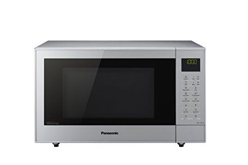 Panasonic NN-CT57 Mikrowelle mit Heißluft & Grill / SlimDesign (geringe Bautiefe) / 1.000 Watt / Kindersicherung / Silber