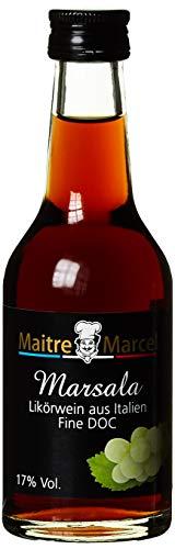 Maitre Marcel Marsala 17% Vol, 12er Pack (12 x 100 ml)
