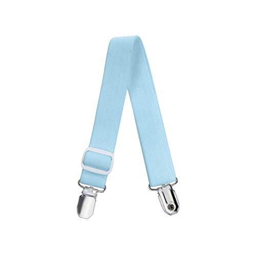 Vektenxi Premium-Qualität 4Pcs Metallbettlaken Befestigungen Matratze Strong Clip Grippers Elastic Holder