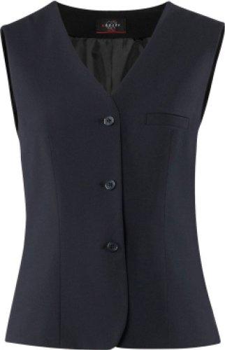 GREIFF Damen-Weste Anzug-Weste PREMIUM comfort fit - Style 1243 - marine - Größe: 38