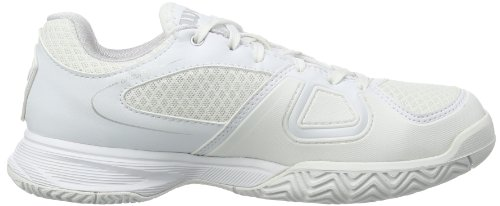 Wilson RUSH 2 W WHITE/STEEL GREY/WHITE 9 WRS317750E090 Damen Tennisschuhe Mehrfarbig (White/Steel Grey/White)