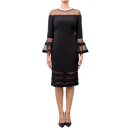 Joseph Ribkoff Dress Style 183417 Black