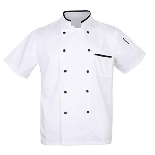 perfk Divise Cuoco Giacca Uniforme Costumo Parti da Donne Abbigliamenti per Albergo