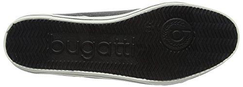 Bugatti - F48036, Scarpe da ginnastica Uomo Grigio (Schwarz 100)