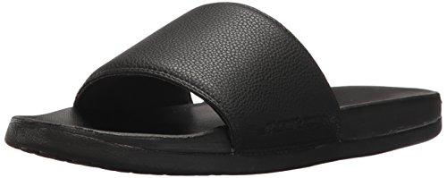 Skechers 51808, Sandalias de Plataforma para Hombre, Negro Black, 45 EU