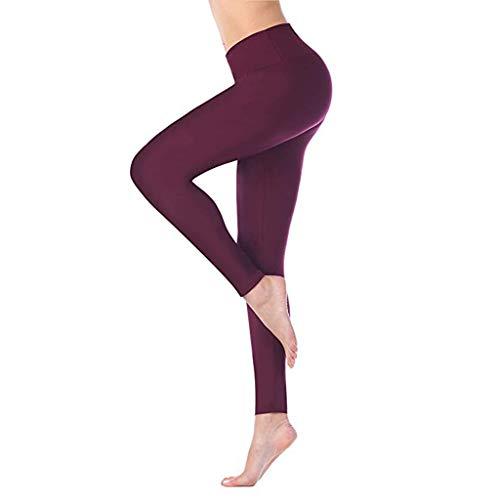 routinfly Damen Freizeithose,Hohe taille und enge fitness yoga hosen nackt versteckte tasche yoga hosen Schnelltrocknende eng anliegende Stretch-Fitness-Shorts für Yogahosen Stretch Twill Bootcut-hose