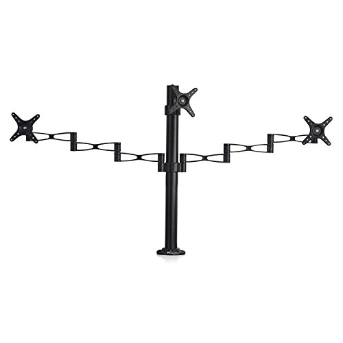 vemount-fully-adjustable-triple-three-arm-lcd-led-monitor-desk-mount-bracket-stand-for-up-to-27-scre